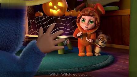 宝宝趣味英语启蒙儿歌Halloween Songs-国语720P