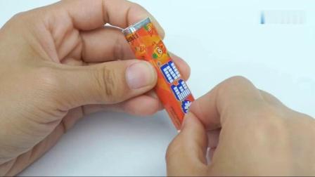 汪汪队立大功第4季小猪佩奇第四季玩具全集抽拉式糖果机动画片