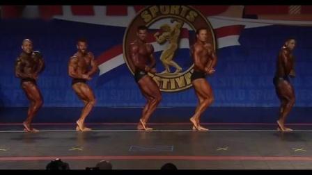 2019年阿诺德经典赛职业组男子古典健体预赛全程视频