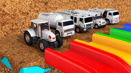 彩色形状农场游戏认识颜色 儿童早教益智英语动画