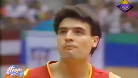1992年美国篮球梦之队 美国VS西班牙 巴克利集锦