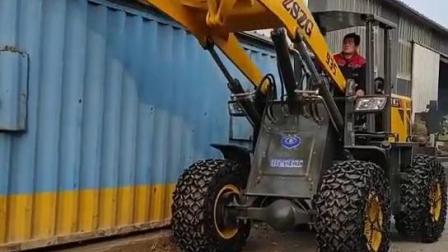 935侧翻铲斗装载机矿山用大型铲车图片价格