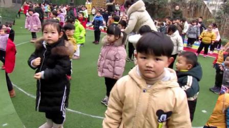 宝应叶挺桥幼儿园(北园)2019年2月28日小班宝宝早操图片
