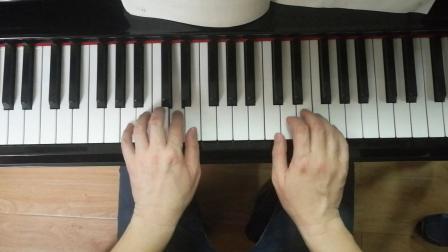 杨锴老师示范幽默曲(老年钢琴实用教程第三册P12)。