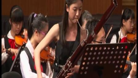 四川双簧学会成立一周年.成都石室中学乐团
