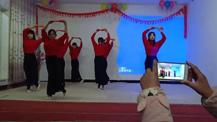 基督教自编舞蹈(一起来)夹沟镇辛丰舞蹈团折扇舞