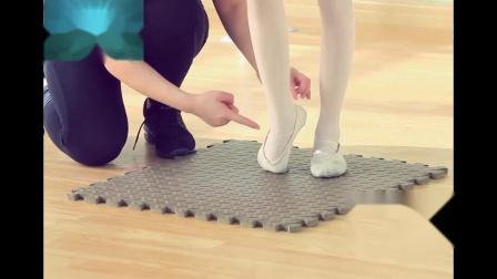 幼少儿舞蹈基础训练培训班技巧讲解教学舞蹈教材之推脚背