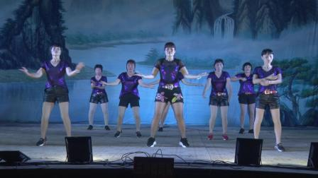 三洲舞蹈队《好嗨哟》2019年鳌头上文扬元宵广场晚会