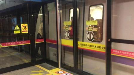 广州地铁2号线A4老鼠(02x043-044)江南西出站