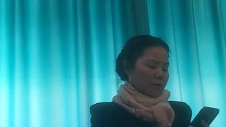 河南神州历史文化保护研究院院长闫芸萱诵读《祭父》
