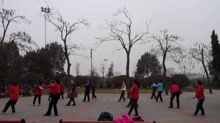 《亲亲茉莉花》练习  泉城体育双拍柔力球队(2019-3-3)