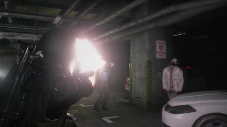 PS4 生化危机2重置版 第四幸存者汉克 无瞄准星 盲射 无伤