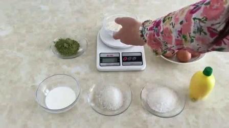 抹茶慕斯蛋糕的做法 烤箱做最简单的蛋糕 君之学烘焙