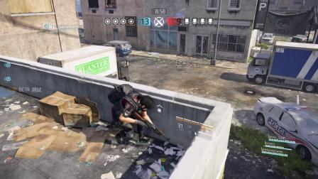 PS4全境封锁2 The Division 2 Beta 首次PVP冲突战遭遇战