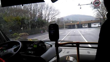 南京江南公交309路(珠海广通银隆14米长纯电动客车)下五旗~王家湾。
