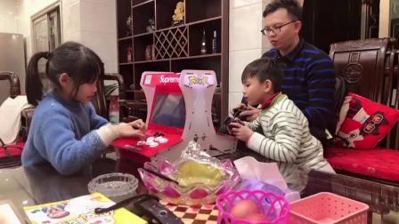 广州玩咖动漫VR-潮牌supreme游戏机双人迷你摇杆台式街机 家用小型格斗机月光宝盒