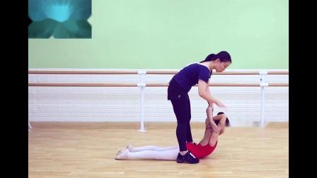 幼少儿舞蹈基础训练体系培训班技巧讲解教学舞蹈教材之拉腰