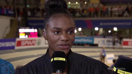 2019.03.02 欧洲室内田径锦标赛 女子60米决赛