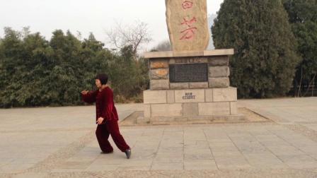 李綉梅老師演練楊氏太極拳85式