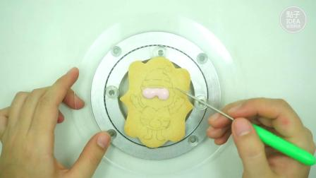 【糖霜饼干】圣诞长方形4件套圣诞老人