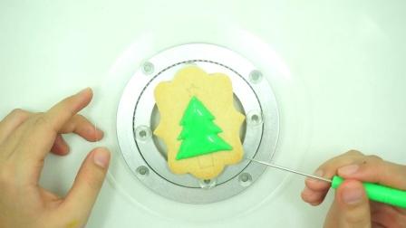 【糖霜饼干】圣诞长方形4件套圣诞树