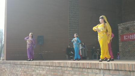 舞蹈《丝绸之路》陕西铜川市耀州区梦想舞蹈队朱宏萍等表演