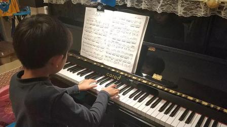 钢琴四级 杜赛克G大调小奏鸣曲(回旋曲)第二乐章