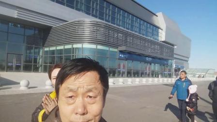 2019年2月17日全家人上阜新高铁站参观