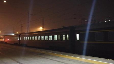 猪王0001/0002牵引蛤号Z29北京站发车