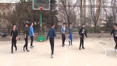 青岛大学2019年3月6日体育活动:篮球