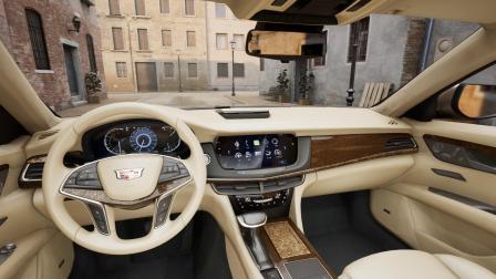 凯迪拉克汽车展示案例