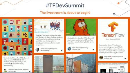 TensorFlow Dev Summit 2019 Livestream