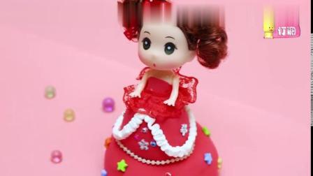夏樱公主音乐盒手工玩具,手工制作一款漂亮的