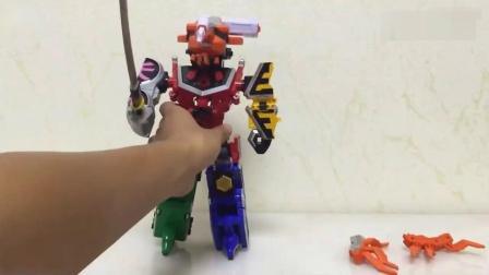 侍战队日版DX 兜折神 合体真剑者, 对比忍风战队, 特命战队甲虫