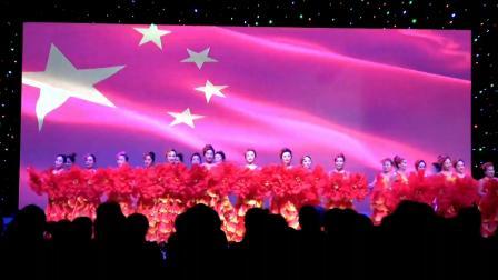 """鸡东县纪念""""三.八""""劳动妇女节109周年演出-舞蹈《花开盛世》表演:华艺天鹅艺术学校"""