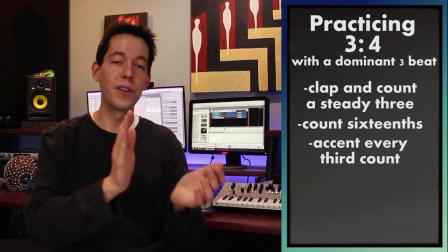 POLYRHYTHM- Learn and MASTER 3-4 and 4-3 [MUSIC THEORY - RHYTHM- COUNTING]