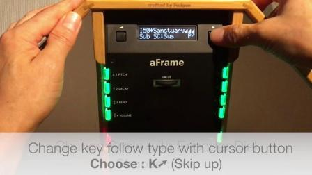aFrame2 0 Tips for scale control edit