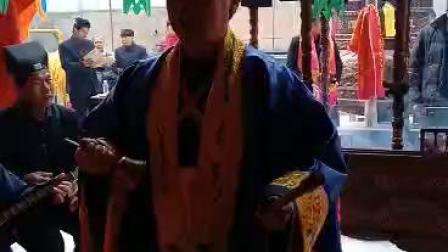 兰州市徐家山城隍庙经乐班宋家滩龙王庙法会诵经