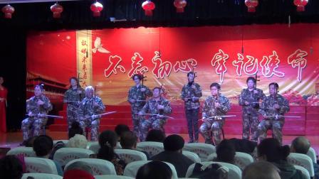 七台河老年大学二胡班表演齐奏《子弟兵和老百姓》