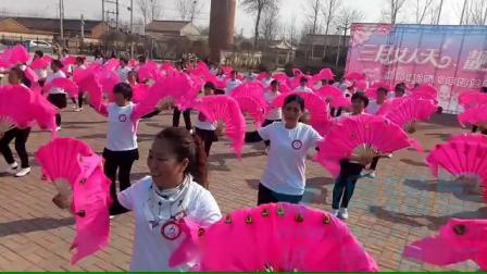 别山镇2019年三八妇女节联欢会开场舞《大海航行靠舵手》