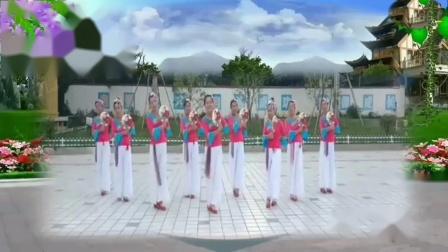 江西翻阳爱风舞蹈队《江南情》原创茉莉老师