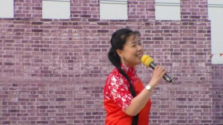 大同第二届得胜长城民俗文化节歌舞组合【一对对鸳鸯水上漂】大妞;连玉堂,中央机厂