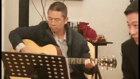 GuitarManH------《外面的世界》吉他弹唱