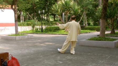 童心演练24式太极拳(背向)2008年