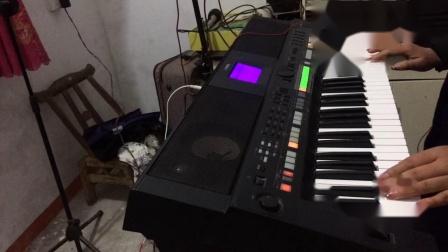 爱人跟人走—电子琴
