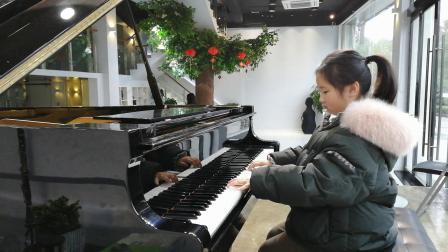 丁家浩琴行 王雨歆同学练习贝多芬《G大调小奏鸣曲》第一乐章