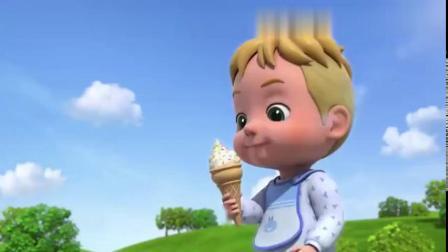 超级飞侠-巨大的酸奶冰激凌,大家帮巨人宝宝做一个巨大的冰激凌