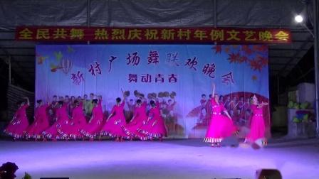 《草原上升起不落的太阳》                         (海之蓝舞蹈队)     新城新村庆祝年例广场舞文艺晚会
