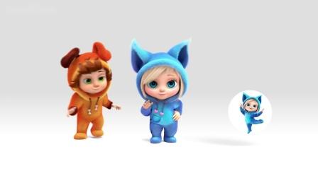 【原版儿童英语歌谣】十只小猫在床上睡觉, 发生了什么?🐱 Ten Kittens in the Bed 🐱🤩生动可爱的3D高清动画