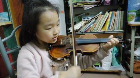 5岁张楚杰《A大调无穷动》